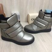 Женские ботинки сникерс