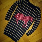Теплое платье Джордж 4-5 лет очень хор сост