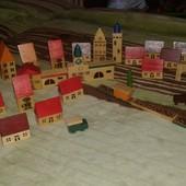 Деревянный город винтажный ( Англия)