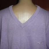 Стильный мужской свитер большого размера