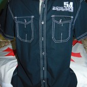 Стильная брендовая рубашка шведка Sedarwood State м