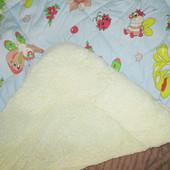 Одеяло детское на овчине