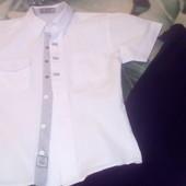 Рубашка + брюки для школы, состояние 5+