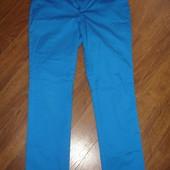 Брендовые Lauren легкие брюки хлоплк электрик на 46-48 размер идеал