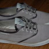 Коттоновые кроссовки кеды Adidas 39 р Индонезия хорошее состояние