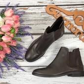 Удобные ботинки челси Asos в темно-шоколадной расцветке  SH3255