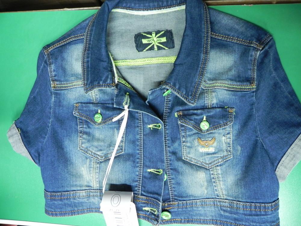 Джинсовая курточка xs, s фото №1