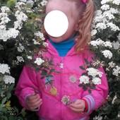 Ветровка и штаны к ней на девочку 2-4 г