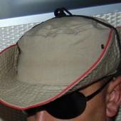 Стильная фирменная панама панамка легкая катон Soldi (Солди).57-58