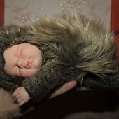 Кукла-младенец Anne Geddes - ЁЖИК