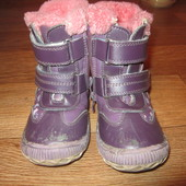 Зимние сапожки, ботинки 16 см