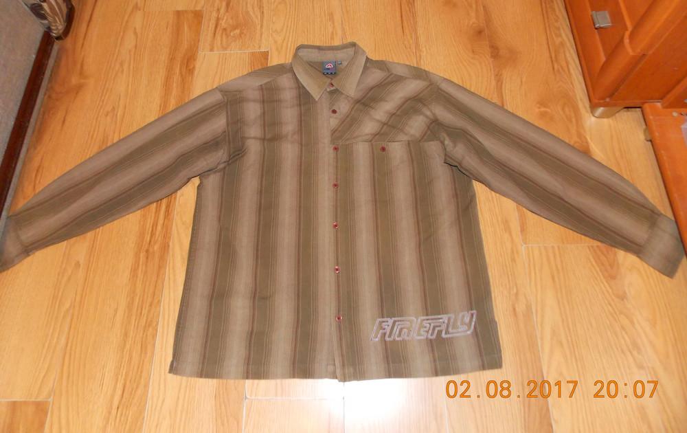Красивая фирменная рубашка  для мужчины, размер XXL фото №1