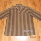 Красивая фирменная рубашка  для мужчины, размер XXL