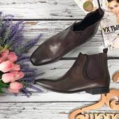 Мужские ботинки челси Asos с винтажными потертостями  SH3320