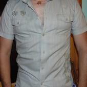 Стильная брендовая рубашка шведка Denim (Дэним) м .