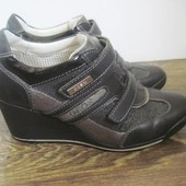 Кожаные ботинки Geox р.35 (36)