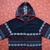размер XS, Флисовый взрослый человечек-пижама Cedar Wood State, б/у.
