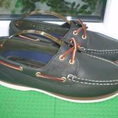 мокасины туфли топсайдеры Timberland кожа
