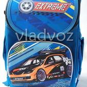 Школьный каркасный рюкзак для мальчиков Cars Extreme синий 3441-5