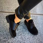 Ботинки -туфли  9c5b684157831