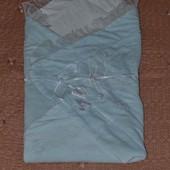 Одеяльце конверт на выписку пледик в коляску