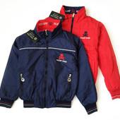 7-12л Philipp Plein люкс куртка бомбер 2х-стор. с утепл. синий/красный эксклюзив