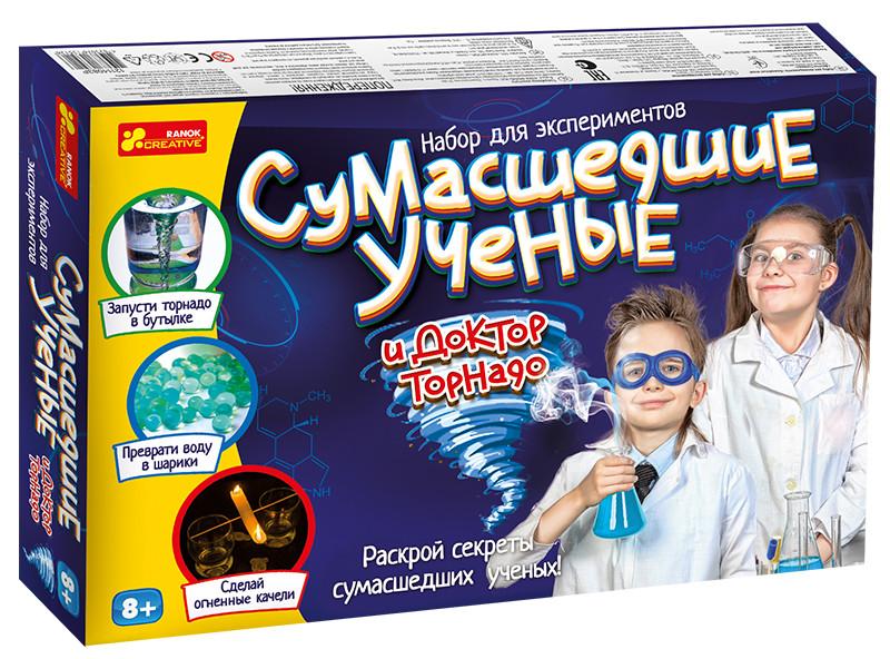 Набор для экспериментов сумасшедшие ученые и доктор торнадо  ranok сreative фото №1