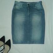 Отличная узкая джинсовая юбка от Yessica,p.36/38