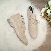 (38р./25см) Laura Di Sarpi! Кожа/замша! Комфортные ботинки, сапоги, полусапожки