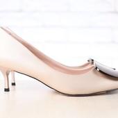 Туфли на каблуке, р. 36,37.38.39, код nvk-2673