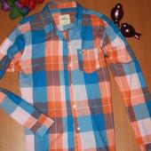 классная рубашка Hollister размер м
