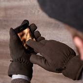 Термо перчатки для сенсорных экранов Tchibo, Германия - зима-деми