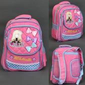 Рюкзак школьный, I love Paris, отделения, 2 отделения внутри, 2 кармана, спинка ортопедическая