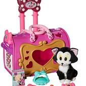 Just Play Minnie Mouse переноска с котиком Фигаро