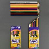 Карандаши цветные 12штук в упаковке 555-633