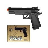 Пистолет Cyma пульки 6 мм Металл пластик ZM26 игрушечное оружие