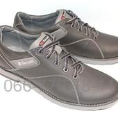 Кожаные мужские туфли демисезонные,  2 цвета