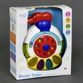 Музыкальная игрушка со светом WD3633 для малышей в коробке