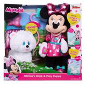 Минни Маус с щенком Just play disney Minnie Mouse