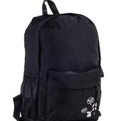Вместительный черный рюкзак