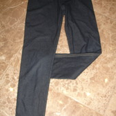Фирменные лосины на 7-8 лет джинсового цвета хлопок