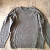 Реглан кофта свитер шерсть  50р Springfield