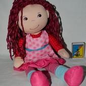 Мягкая фирменная кукла куколка кукла из ткани Haba Хаба