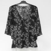 Красивая женская блуза-туника  известного бренда Vila, S, Сток из Европы