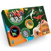 Набор креативного творчества «Dino Art», рисуй-играй-изучай