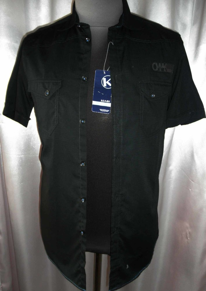 Красивая мужская рубашка Kiabi разм М фото №1