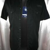 Красивая мужская рубашка Kiabi разм М