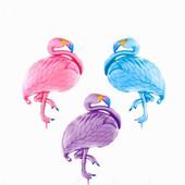 Шар гигант фламинго