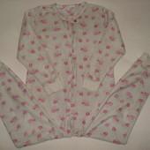 ромпер,пижама на 7-8 лет флисовый