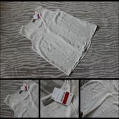 C&a.новая.красивая майка - блуза.белоснежная.